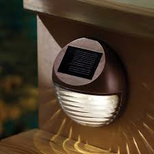solar powered porch light