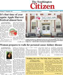 10 01 2010 southington citizen by dan chagne issuu