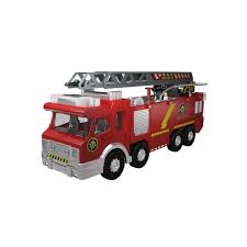 Fire Truck Engine With Adjustable Ladder, Water Pump (Shooting ...