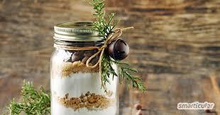backmischung im glas selber machen köstliches last minute geschenk