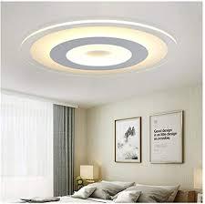 28cm runde led deckenleuchte acryl kaltes licht warmes licht