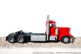 Sheepo's Garage: Peterbilt 379 & CAT C15 Lego Toys R Us City Truck Itructions 7848 Old Long Nose Working Semi Pulling The Dhl Trailer Moc3961 Truck Town 2015 Rebrickable Build Lego 05591 Red Bird Trailer And Jet By Knightranger Lego T2 Mkii With Lowboy Tr4 Mkll Dolly Flatbed I Saw This Kind Of Crane Section On A Flat Flickr Custombricksde Custom Modell Moc Thw Fahrzeug Vehicles Bdouble Curtainsider Pictures Review The Brick Fan