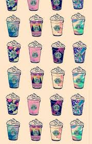Drawn Starbucks Wallpaper