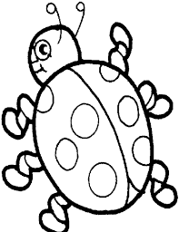 Cute Ladybug Girl Coloring Pages