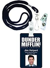 Jim Halpert Halloween by Amazon Com The Office Tv Show Jim Halpert Dunder Mifflin
