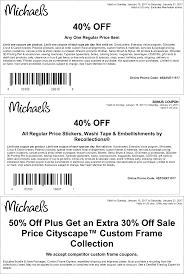 Michaels 40 Percent Coupon - Laptop 13.3