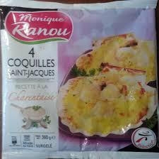 cuisiner les coquilles st jacques surgel馥s 4 coquilles jacques recette à la charentaise surgelé