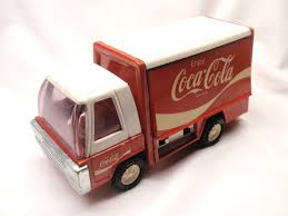 100 Coke Truck VINTAGE BUDDY L Pressed Steel CocaCola Delivery 1250