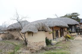 100 South Korean Houses Turtle Expedition Korea 4 Hahoe Folk Village December 2014
