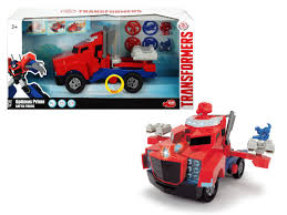 Transformers Optimus Prime Battle Truck | Buy Online In South Africa ...