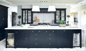 modern dark grey kitchen cabinets with white appliances uk