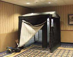 This Is PORTABLE Full Size 6 X Vocal Booth In Bags