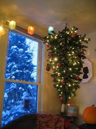Upside Down Hanging Christmas Tree