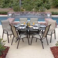 Aluminum Sling Stackable Patio Chairs by Decorating Outdoor Sectionals Clearance With Coffee Table And