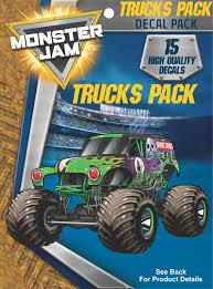 100 Monster Truck Decals Galleon Jam S Decal Pack For MacBook Laptop Vehicle