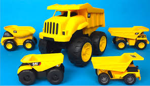 Small Big Bigger CAT Tough Tracks Mighty Machines Dump Truck The ...