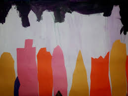 Pumpkin Patch Kiln Mississippi by Art With Mr E Skyline City Scapes Mixed Media 1st Grade