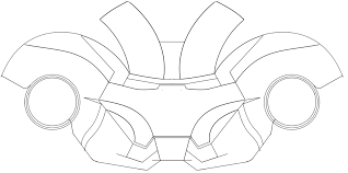 Jkfceu Mm Ironman Helmet Template