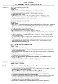 Download Education Training Resume Sample As Image File