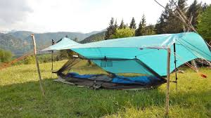 Hammock Ground Set up No Trees As e Person Tent Tarp Tent