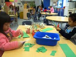 Children Learning And Playing
