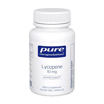 Pure Encapsulations Lycopene Dietary Supplement - 10mg, 100 Capsules