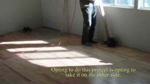 diy installing used basketball court in mobile home not