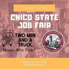 100 Two Men And A Truck Locations Chico State Job Fair TWO MEN ND TRUCK