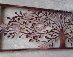 Metal Wall Panel Decor With Lighting