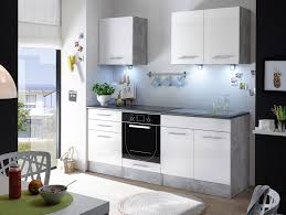 salito mini küche dekor beton weiß kleine küche ideal