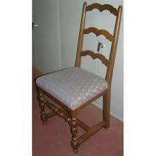 chaises louis xiii série de 6 chaises louis xiii avec entretoise en h sur moinat sa