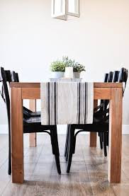 This Modern Farmhouse Dining Room Table Is The Perfect Addition To Any Space With