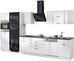 held möbel küchenzeile trier mit e geräten gesamtbreite 360 cm kaufen otto