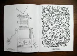 Doodlers Anonymous Have Brought Out A New Colouring Book