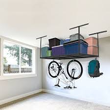 amazon com fleximounts 3x6 overhead garage storage adjustable