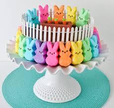 Peeps Bunny Patch Cake Marshmallow Peeps