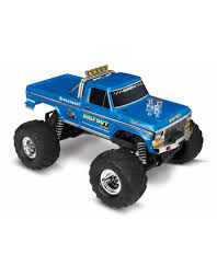 TRA36034-1 BIGFOOT® NO. 1: 1/10 SCALE OFFICIALLY LICENSED REPLICA ...