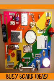 Love All These DIY Ideas To Make A Sensory Board Activity For