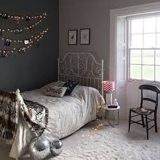 Has Added Some Vintage Glam To Her Teens Bedroom And Created An Eclectic Mix Of Eras We Particularly Like The Fairy Light Photo Wall IKEA LEIRVIK