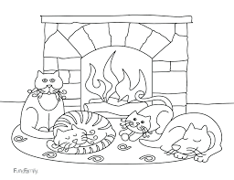 Winter Coloring Pages For Kindergarten Free Sheets Preschoolers Dltk Preschool Archives Page Animals Full Size