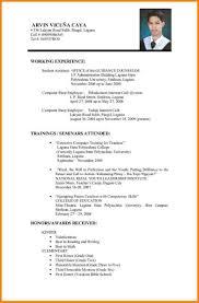 Resume Sample Doc Malaysia Of