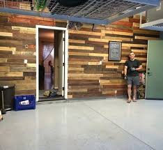 Rustic Garage Wall