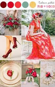 Gold Red Wedding Ideas