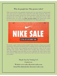 Why Do People Buy Nike Promo Codes By User - PDF Archive