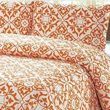 orange bed sets – selv