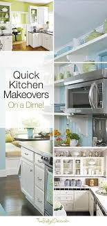 Quick Kitchen Makeovers On A Dime Lime Green KitchenLime WallsBlue WallsKitchen DecorKitchen DesignKitchen IdeasSpring ColorsDiy DecoratingBudget