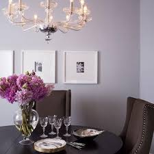 Purple And Brown Dining Room