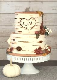 Birch Wedding Cake Bark Toppers Rustic