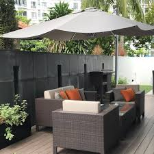 Branded Emo Umbrella For Pool Side Garden Furniture Others On Carousell