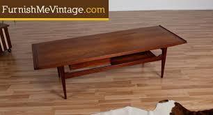 Kent Coffey Dresser The Pilot by Vintage Moreddi Danish Teak Coffee Table